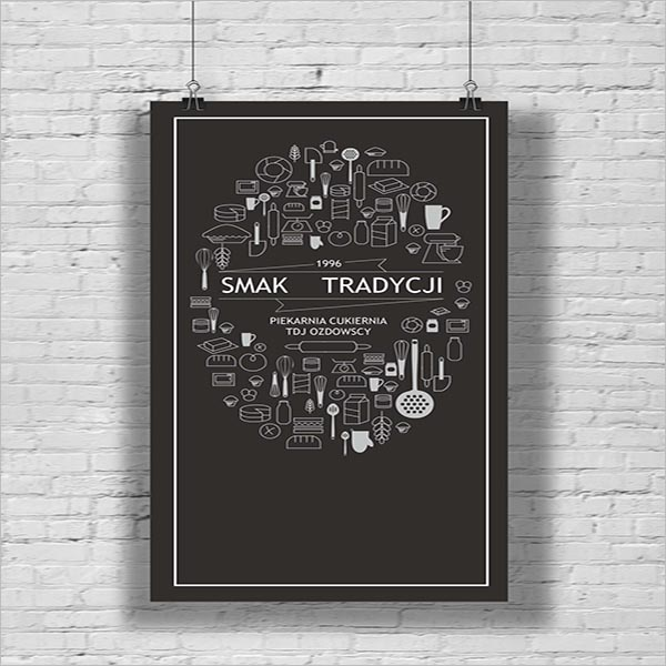 Tradition Bakery Poster Design
