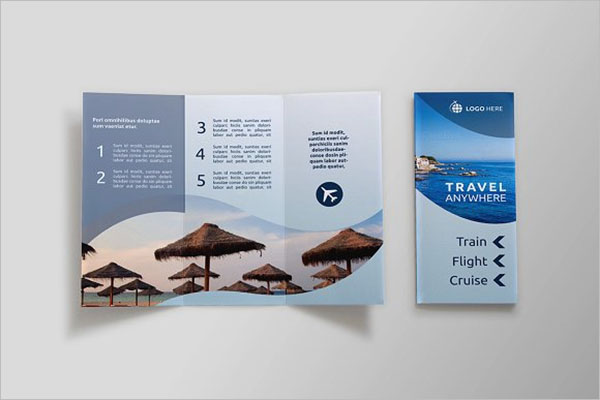 Travel Brochure Design Inspiration
