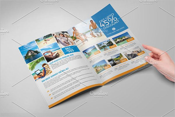 Travel Brochure Design PDF