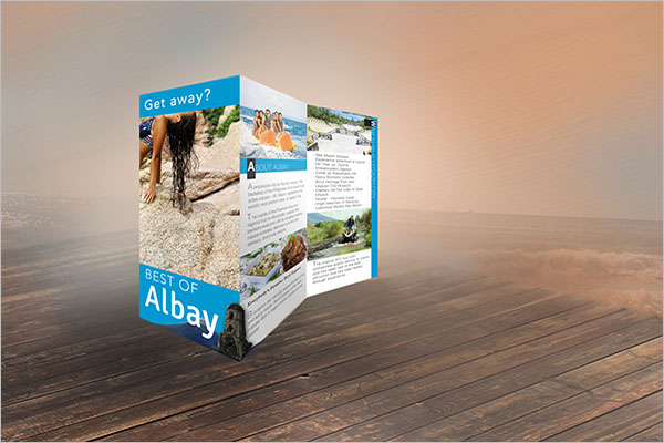 Travel Brochure Design Template