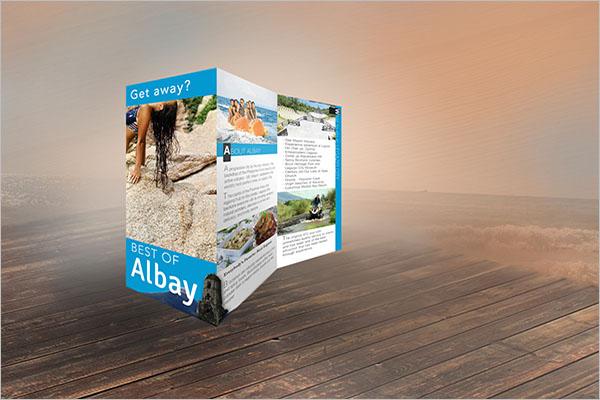 Travel Brochure Design Template