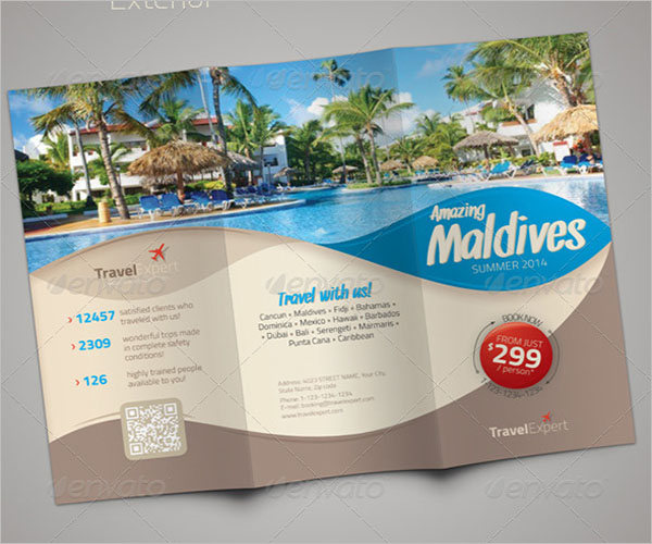 Travel Brochure Resort Template