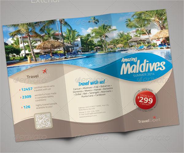 Travel Brochure Resort Template
