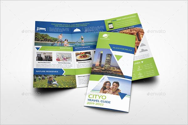 Travel Business Brochure Design