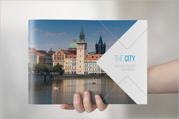 Travel Landscape Brochure Design