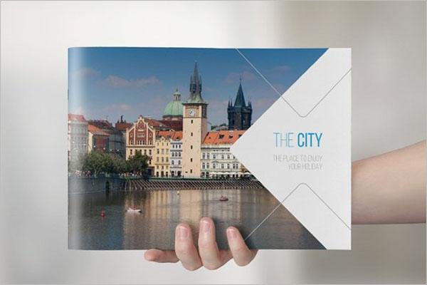 Travel Landscape Brochure Design