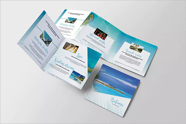 Travel Tropical Brochure Design