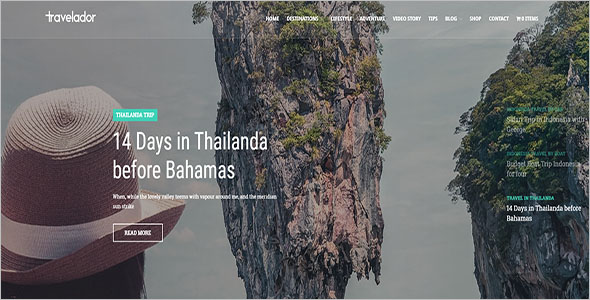 Travel WooCommerce Shop Theme