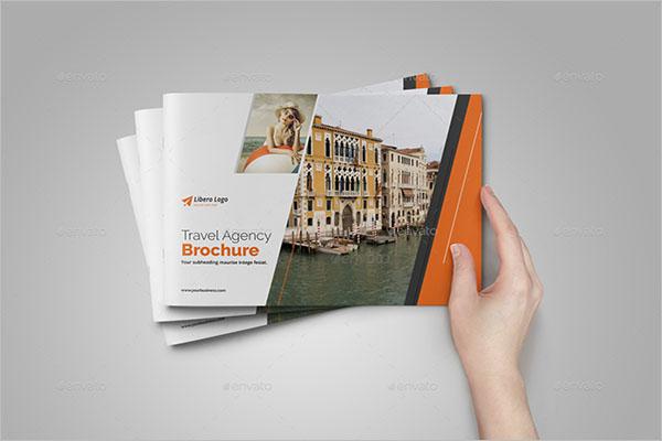 Travel brochure Design PSD