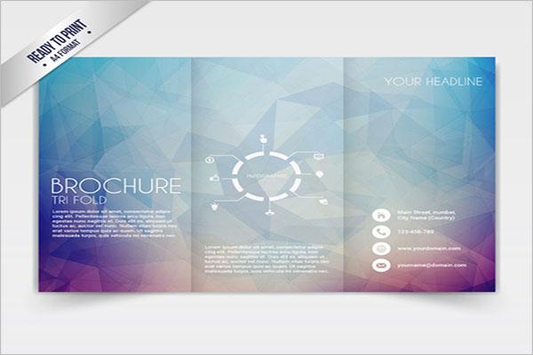 Tri-Fold Brochure Template Example