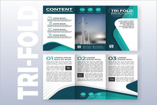 Tri-Fold Brochure Template Illustrator