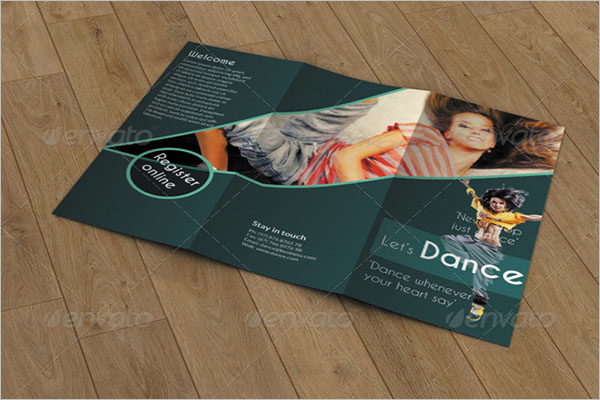 Trifold Brochure- Dance Studio