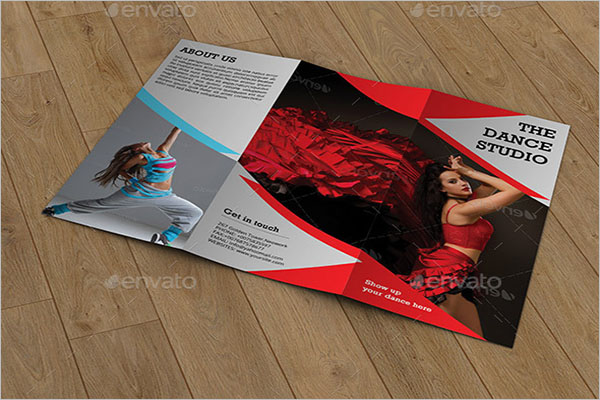 Trifold Brochure for Dance Studio