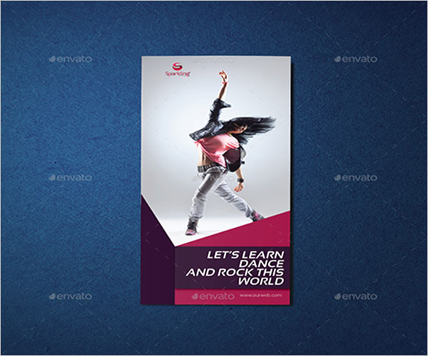 Trifold Dance Studio Brochure