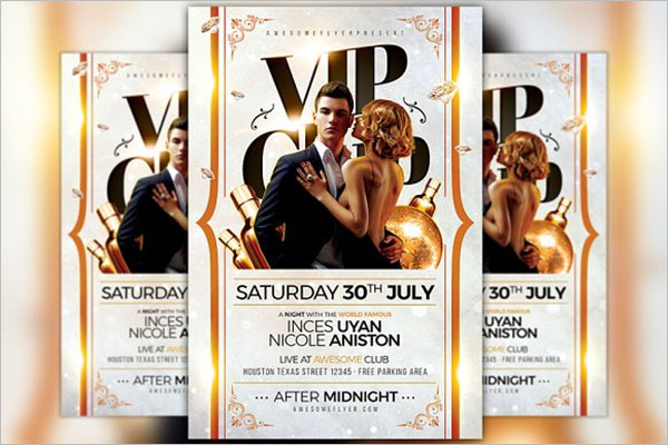 VIP Club Flyer Template