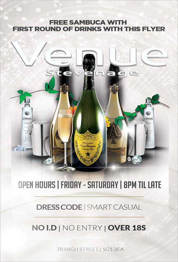 Venue Nightclub Flyer Template