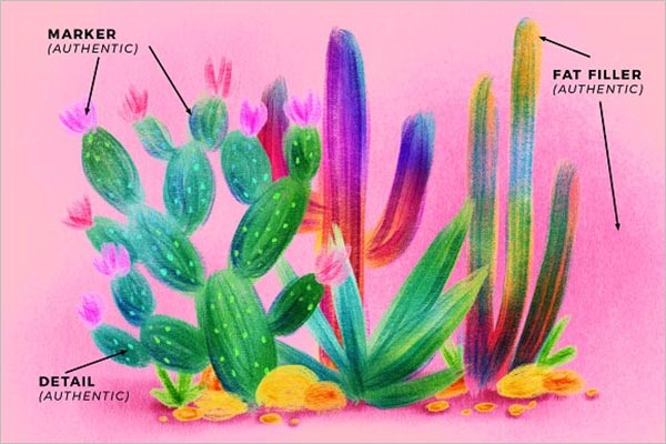 Visual Art Texture