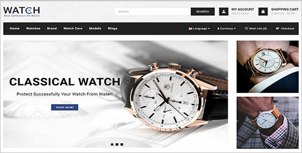 Watch Store 3.x OpenCart Template