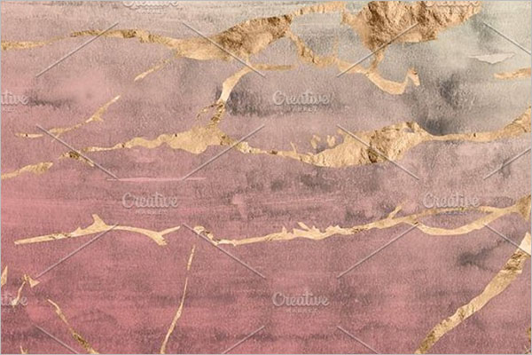Watercolor Rose Gold Background