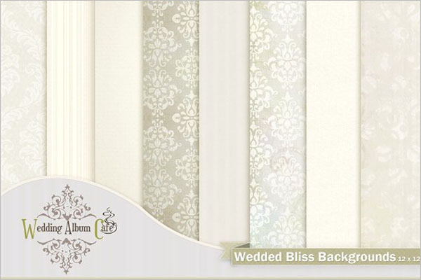 Wedded Bliss Background Template