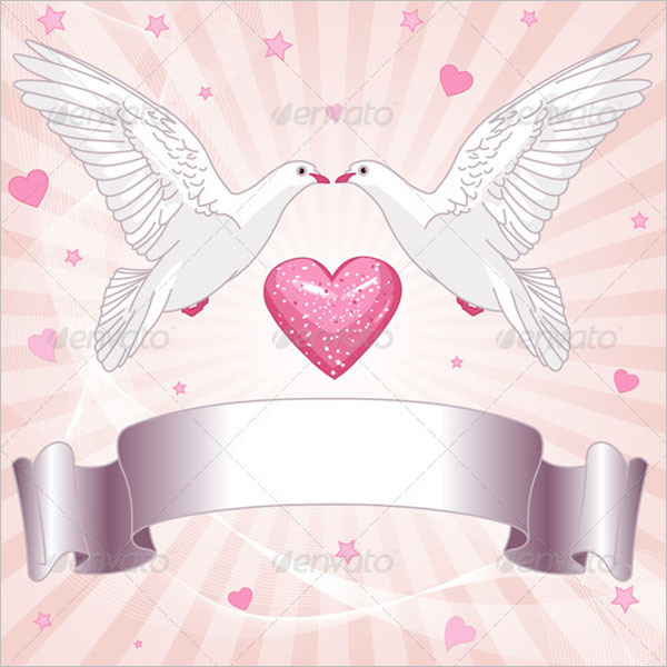 Wedding Background for Invitations