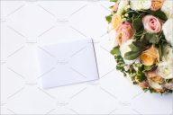 Wedding Blank Background Mockup