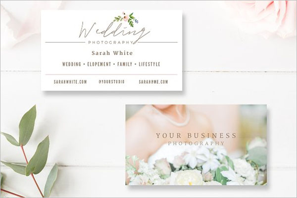 Wedding Business Card Ideas