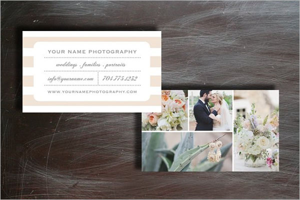 Wedding Business Card PSD
