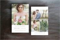 Wedding Business Card Vector