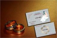 Wedding Card Printing Business Card