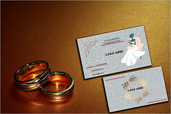 Wedding Card Printing Business Card