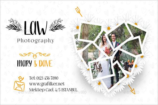 Wedding Decor Business Card Ideas