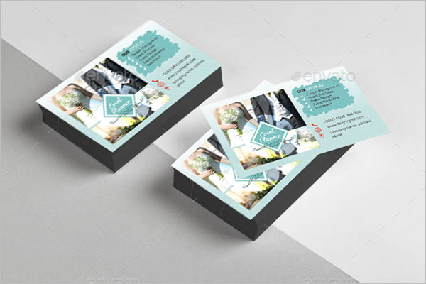 Wedding Event Planner Business Card