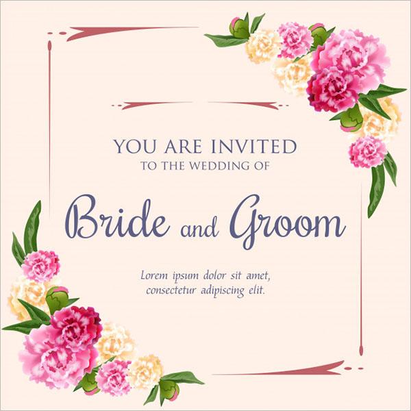 Wedding Invitation Background Free Download