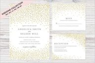 Wedding Invitation Collection Background