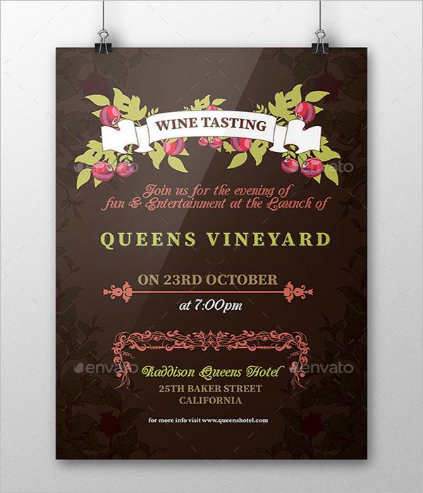 Wine Diagram Poster Design