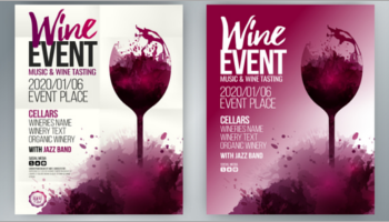 Wine Poster Designs