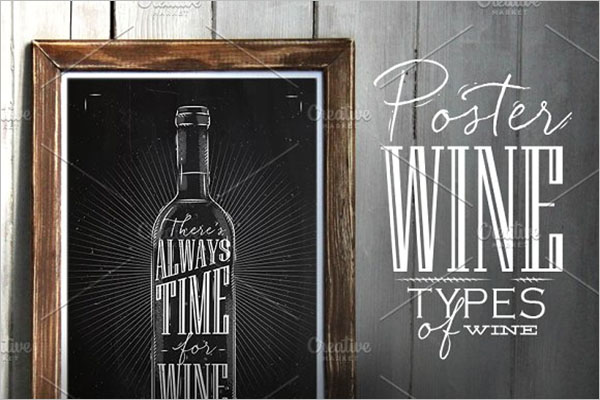 Wine Poster Set Template
