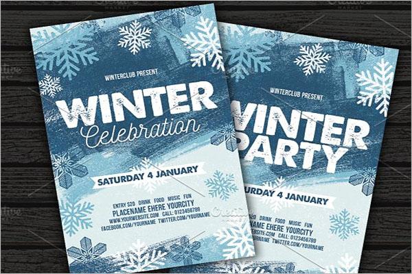 Winter Concert Flyer Template