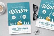 Winter Flyer Background