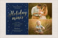 Winter Holidays Minis Flyer Template