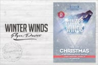 Winter Wind Flyer Poster