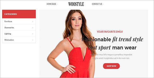WooStyle Shop WordPress Theme