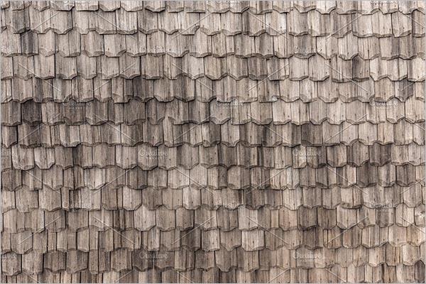 Wooden RoofTiles Texture