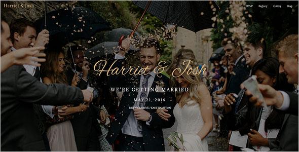Wordpress Wedding Planner Theme