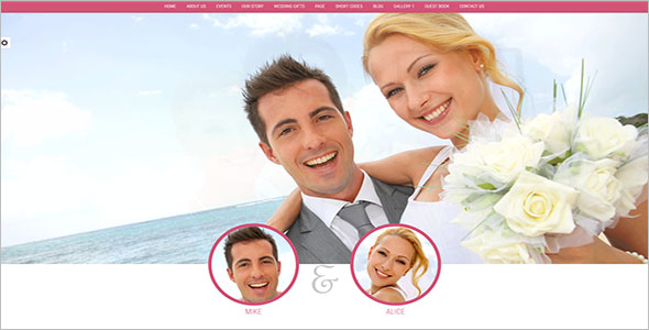 Wordpress Wedding Website Theme