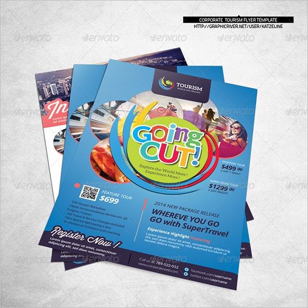 World Travel Tourism Flyer Template