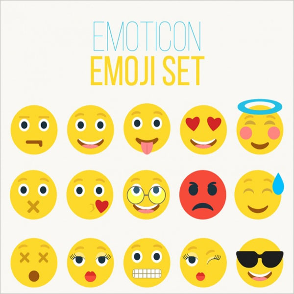 Yellow Emoticons Collection Ideas