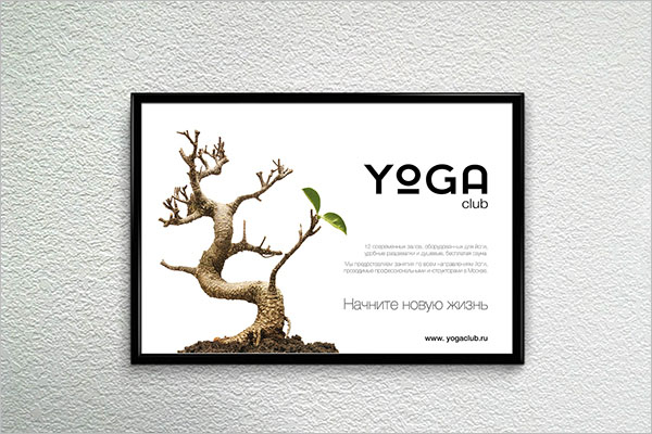 Yoga Club Poster Template