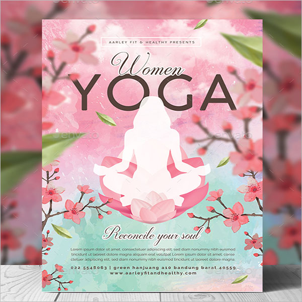 Yoga Day Poster Design